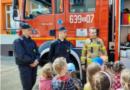 Wizyta strażaków z OSP Repty Śląskie.